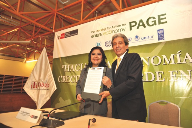 Signing the Lima Declaration