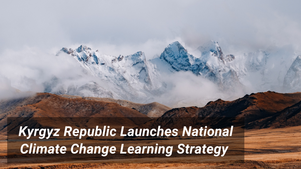 Kyrgyzstan Learning Strategy banner