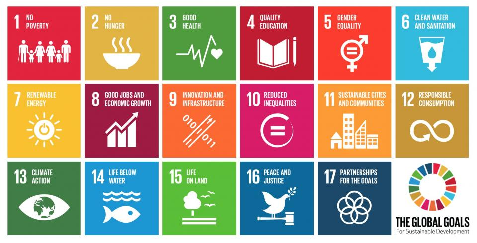 october page and the sustainable development goals page